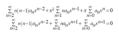 n(n-1)apx' n=2 _ n=1 n=0 n(n-1)a N=2 1 n=1 n=0
