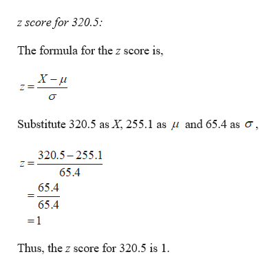 Statistics homework question answer, step 3, image 1