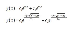 """У(х)-се""""* + се""""т -b+yb-4ac у (х) -се -b--4ае +Cе 2а 2а"""