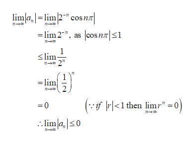 "limlalim2"" cos n lim2"", as cosnT| 1 n0 n00 1 lim n 2"" lim n 2 (-f<1 then limr"" =0) 0 no limla,s0 n-00"