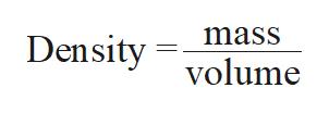 mass Density olume