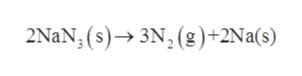 2NAN, (s)3N, (g)+2Na(s)