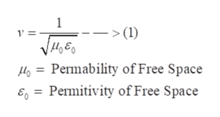 1 (1) 4Permability of Free Space E= Permitivity of Free Space