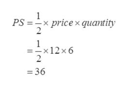 1 PS x pricex quantity 2 1 - x 12 x 6 2 36