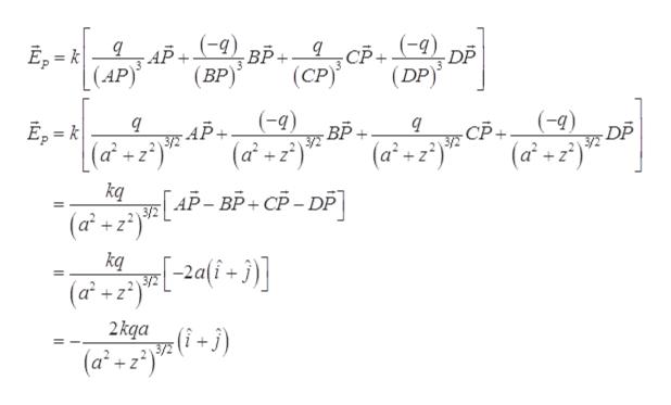 """Е, - к (АP) АР+ 9) вр. 9 СР+ 9) DP (DP) (ВР)"""" (СР) (-9) ВР Е, - к (a2z° (-9) У -АР- (af + Г АР-ВР-СР-DP] (Б- DP -СР. /2 УЕ (a°2) 3/Е +z (af+) kq 3/2 (a2 z + kq (а' +2)"""" 2kqa (i -) 3/72 (a2+z2)"""