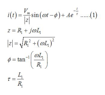 i(t)=sin(t¢)+ Ae (1) z RjoL 21=-NR2 +(L) = tan LL
