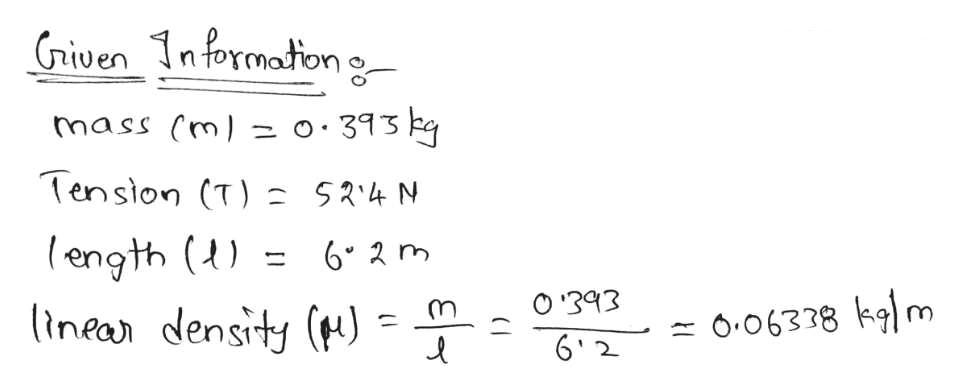 riven 1n formaton g ০ 3१5 mass (m = Tenston (T) 5R4 N (ength () linean density () O393 O.06338 klm 6 2