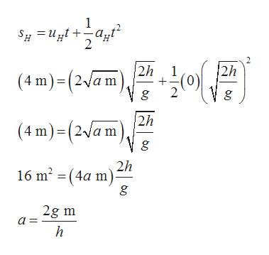 1 2 2h 2h (4 m)(2/a m g (4 m)(2a m2h 2h 16 m2 (4a m) 2g m