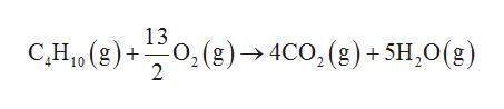 13 (8)> 4CO, (8)+ 5H,0(g) C,H1(g) 2