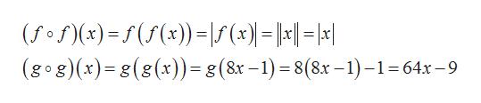 (g og)(x)g(g(x))=g(8x -1)=8(8x -1)-1 64x-9 _
