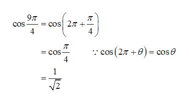 97 = cos 27 cos 4 cos (27 +) cose = COS 4 -