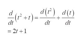 d dt dt dt = 21 1