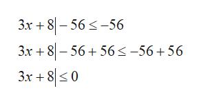3x +8-56-56 3x +856 56 s-56+56 3x +80