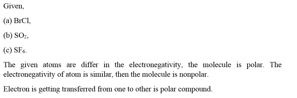 Answered Predict Whether These Molecules Are Bartleby