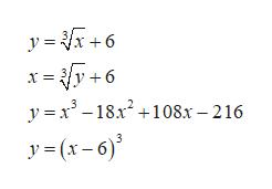 y 6 - y+6 y x18x2108x- 216 y(x-6)