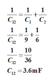 1 1 -+ 1 G с, Св G с, 1 1 1 С 9 6 1 10 С 36 С2 — 3.6mF