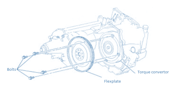 Bolts Torque convertor Flexplate trESA