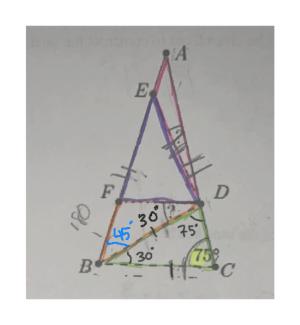 A E F 30 45 75 30 738 C B