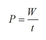 W P = t