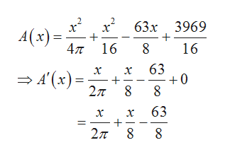 х* 63х 3969 A(x) 4л 16 8 16 63 +0 х х — 4 (к) -, 2л 8 63 х х 2л о о