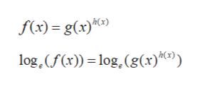 f(x)= g(x)) log,(f(x))-log, (g(x)c9)