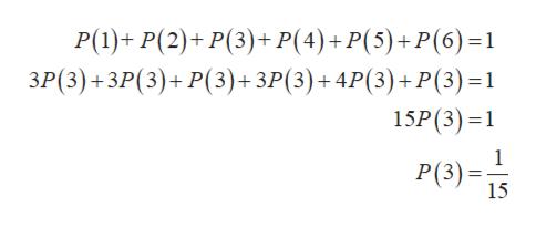 Р(1)+ P(2)+ P(3)+ P(4)+P(5)+P(6)-1 ЗР(3) + ЗР (3)+ Р(3)+ ЗР(3)+4P(3)+ P(3) -1 15P(3)1 1 Р(3) -3; 15