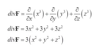 dirF))) + axc divF 3x2 +3y +3z divF =3(x + y +z*)