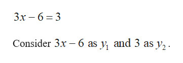 3х — 63 3 Consider 3x 6 as y, and 3 as y,.