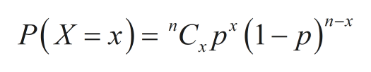 "Р(X %3 х)- ""С,p"" (1-р)""*"