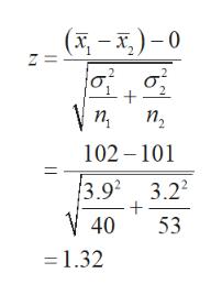 (x-)-0 Z= п, 102 101 3.92 3.22 -+ V 40 53 = 1.32