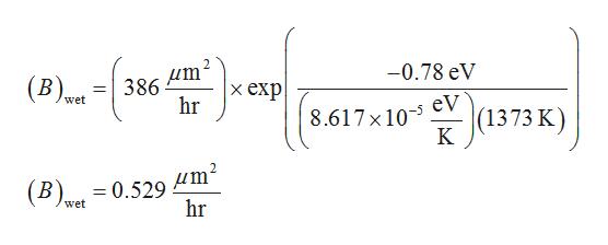 -0.78 eV В). 386 hr х еxp eV (1373 wet 8.617 x 10 дm (B 0.529 hr wet