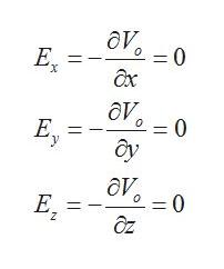 ду. = 0 Е, х дх дт = 0 о Е. У ду ду, =0 о Е, дz