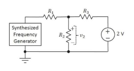 R3 R1 Synthesized Frequency 2 V R2 V2 Generator (+ 1 ww