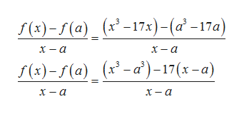 /(8)-/(а) _(*-17а)-(а' -17а) 3 х — а х — а /(3)-/ (а) (х-а')-17(х -а) х — а х— а