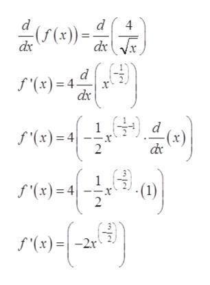 "d d 4 (x))= dx d f(x) 4 dx f""(x)=4 2 f'(x)=4 ro- -(1) x лonlo) f(x)=-2x"