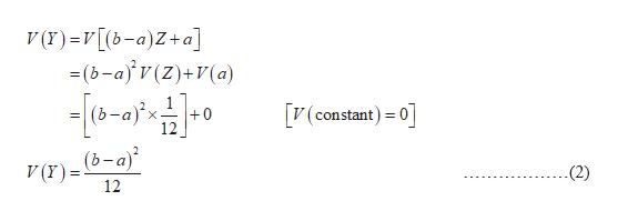 V (r)=V[(b-a)Z+a] =(b-a)v(Z)+V(a) (constant) 0 (b-a)x +0 12 (b-a) V (r) = (2) 12