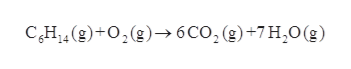 CH(g)+02(g)6CO2 (g)+7 H2O(g)