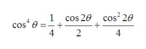 1 cos 20 cos2 20 cos e 4 + 2 4