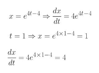 dax 4et-4 dt t 1 e4x1-41 dx 4e4x1-4 dt = 4