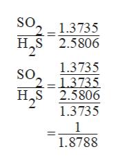 SO. 1.3735 HS 2.5806 1.3735 1.3735 H S 2.5806 1.3735 1 1.8788