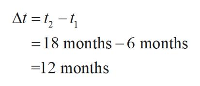 At =1-1 18 months -6 months =12 months