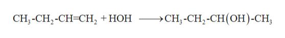 CH,-CH,-СH-CH, + НОH CH,-CH,-СH(оН)-СH,