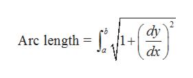 dy Arc length
