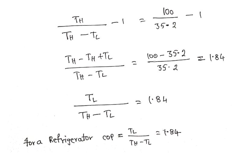 00 TH 35 2 THT -TL TH TH T 84 35.2 Tit- TL TL (84 THTL TL 4or a Refrigerator cop TH-TL ( I