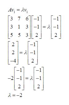 Av Av 3 7 6-1 3 1 3-1= 1-1 -1 5 5 3 2 2 -1] 2 2 A-1 2 -2-1 -1 2 2 2=-2