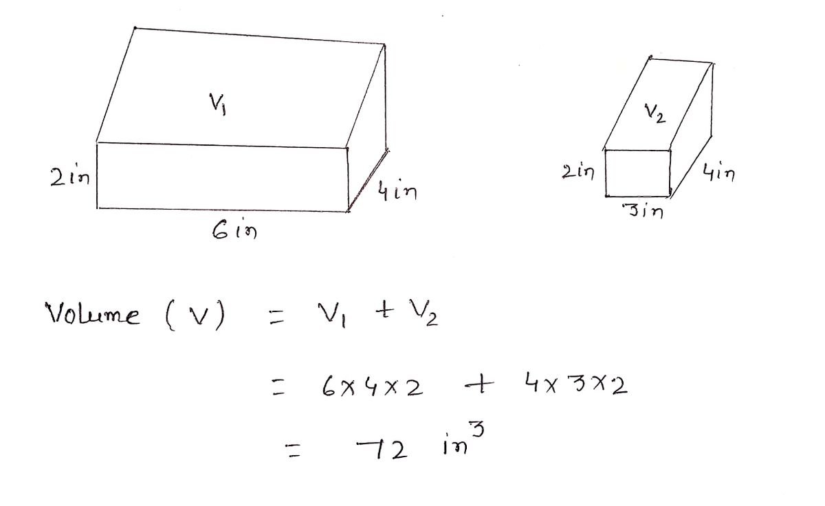 Answered: Find the volume and surface area of… | bartleby