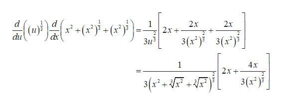 ое-е)- 1 d (и): dxc du 2х + 1 1 2х + 2х 2 2 3(x*)3()j Зи3 1 4х 2х + 3- г. 3(х)