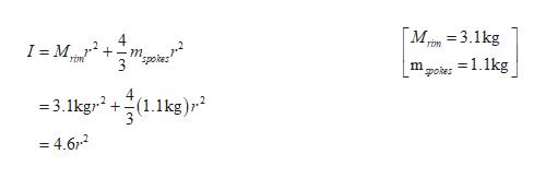 M3.1kg I M _ т. піт літ 3 spoer -1.1kg m poter 4 =3.1kg2(1.1kg)r = 4.6-2 n