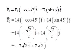 (cos i+(sin e 14(-cos 45+14 (sin 45' ) 142 14 2 2 -- 72i+ 72j