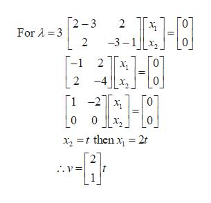 Г2 —3 2 ForA 3 2 -3-1x -1 2 0 х -4 Lo 2 Г1 -2|| х, 0 0 x2 then x 2r 2 v= t